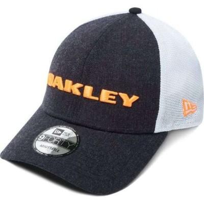 オークリー Oakley メンズ キャップ 帽子 Heather New Era Snap-Back Golf Hat Fathom