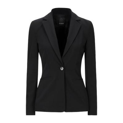 ピンコ PINKO テーラードジャケット ブラック 38 ポリエステル 94% / ポリウレタン 6% テーラードジャケット