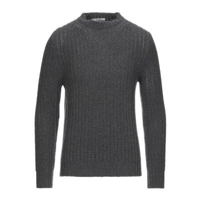 KANGRA CASHMERE プルオーバー  メンズファッション  トップス  ベスト、ジレ  プルオーバー 鉛色