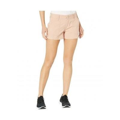 "Prana プラナ レディース 女性用 ファッション ショートパンツ 短パン 3"" Elle Shorts - Champagne"