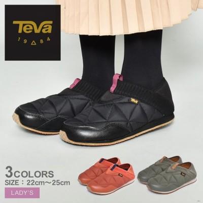 テバ スリッポン レディース エンバーモック TEVA 1018225 2WAY 靴 シューズ ブラック 黒 ホワイト 白 カーキ カジュアル キャンプ