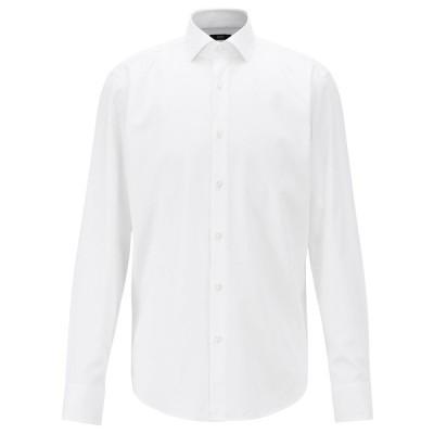 ヒューゴボス シャツ トップス メンズ BOSS Men's Jaiden Cotton Dress Shirt White
