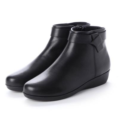 カルロロセッティ CARLO ROSSETTI :使い勝手の良いアンクル丈ブーツ CR23854 (ブラック)