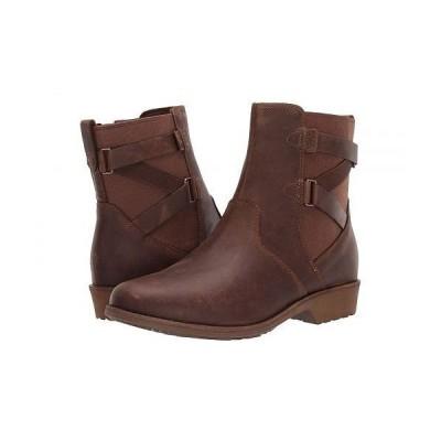 Teva テバ レディース 女性用 シューズ 靴 ブーツ チェルシーブーツ アンクル Ellery Ankle WP - Pecan