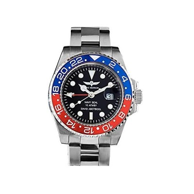 Time Warrior ネイビーシール GMT スイス メンズ 腕時計 セラミックベゼル Ronda 505 スイス製クォーツムーブメント プロダイ好評販売中