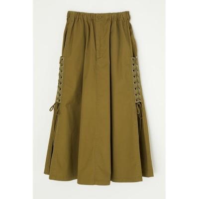(moussy/マウジー)BLEACH PRINTED スカート/レディース KHA