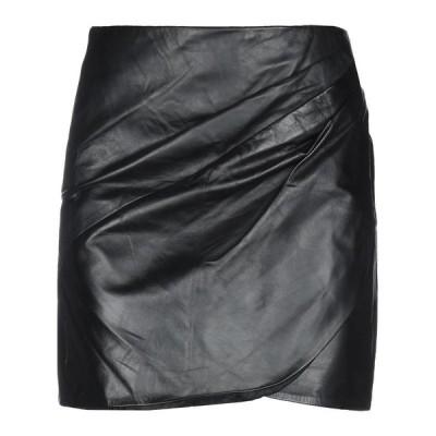 VANESSA BRUNO ミニスカート  レディースファッション  ボトムス  スカート  ロング、マキシ丈スカート ブラック
