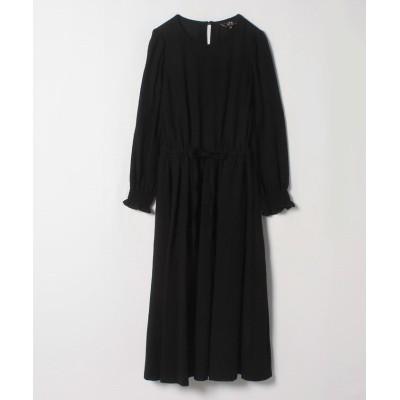 【アニエスベー】 WM27 ROMANTIC DRESS レディース ブラック 36(S) agnes b.
