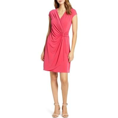 トミー バハマ TOMMY BAHAMA レディース ワンピース ラップドレス ワンピース・ドレス Carmela Faux Wrap Dress Amaranth