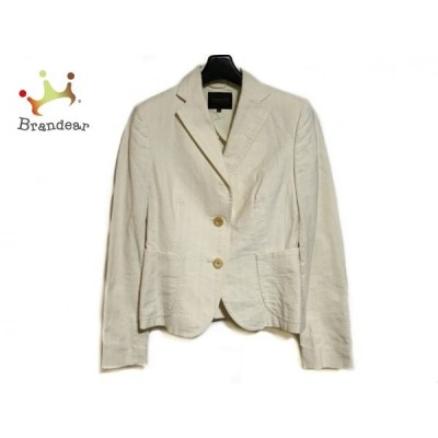 トゥモローランド TOMORROWLAND ジャケット サイズ38 M レディース 白   スペシャル特価 20200723