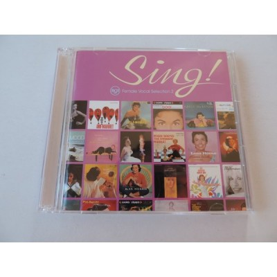 RCA Female Vocal Selection 2 / Sing ! : 2 CDs // CD