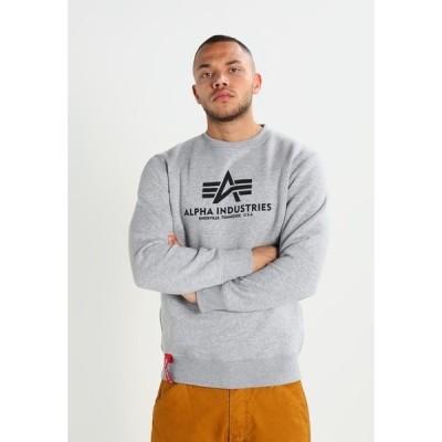 アルファインダストリーズ パーカー・スウェットシャツ メンズ アウター BASIC  - Sweatshirt - grey heather
