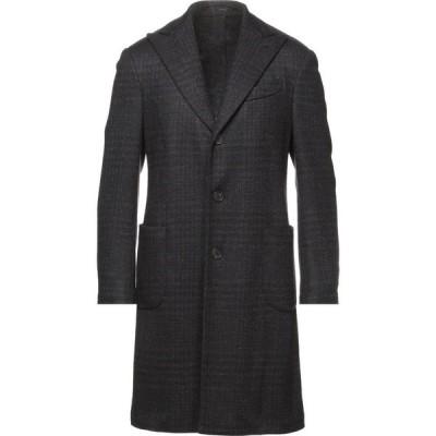 ラルディーニ LARDINI メンズ コート アウター Coat Dark brown