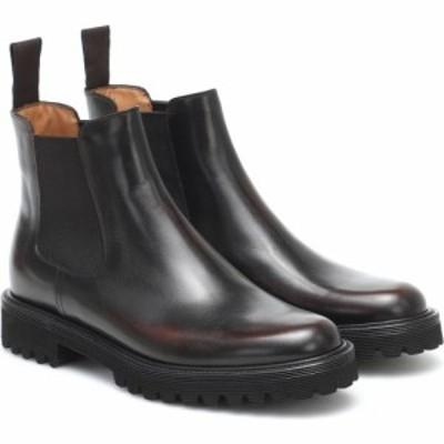チャーチ Churchs レディース ブーツ チェルシーブーツ シューズ・靴 Nirah Leather Chelsea Boots Burnt