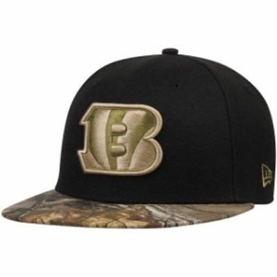 New Era ニュー エラ スポーツ用品  New Era Cincinnati Bengals Black/Realtree Camo Rambo 59FIFTY Fitted Hat