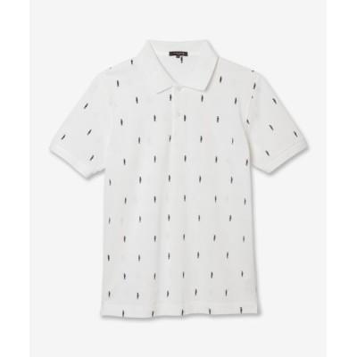 MACKINTOSH LONDON(MENS)/マッキントッシュ ロンドン  メンズ ダンディーマン刺繍ポロシャツ ホワイト L