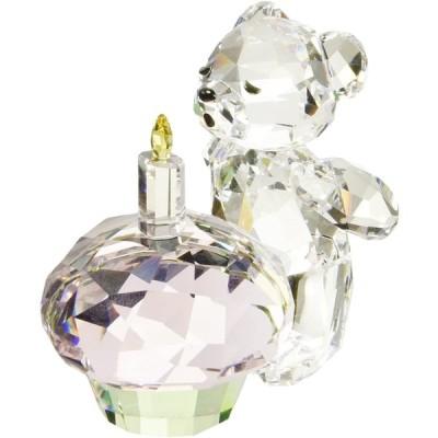 """スワロフスキー クリスタル 置物 B078JHKMH1 Swarovski Crystal""""Kris Bear - Time to Celebrate"""" Figur"""
