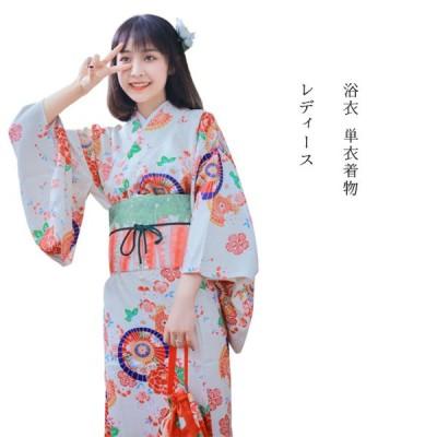 レディース 浴衣 単衣着物 単衣 仕立て上がり 洗える 高級 花火大会 お祭り 浴衣 F-kimono-01-2