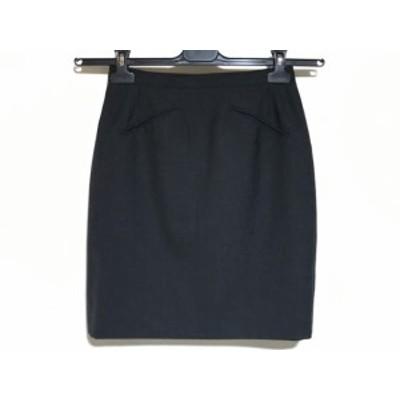 アニエスベー agnes b スカート サイズ38 M レディース ダークグレー【中古】20190827