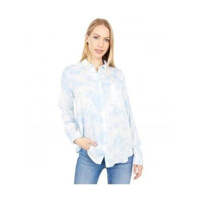 Lucky Brand ラッキーブランド レディース 女性用 ファッション ボタンシャツ Classic Shirt - Blue Multi