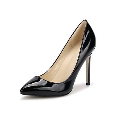 [リュアーヤ] 11CMヒール レディース 美脚 パーティー クラブ 変装 おおきいサイズ ポインテッドトゥ パンプス ハイヒール ピンヒール 靴 h