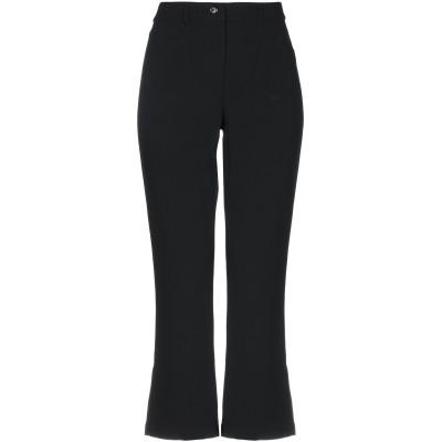 モスキーノ MOSCHINO パンツ ブラック 40 アセテート 72% / レーヨン 27% / 指定外繊維 1% パンツ