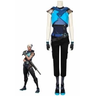 ヴァロラント VALORANT ジェット Jett コスプレ衣装 コスチューム cosplay [4586]