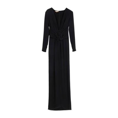 マイケル・コースコレクション MICHAEL KORS COLLECTION ロングワンピース&ドレス ブラック 2 シルク 100% ロングワンピ