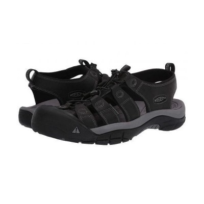 Keen キーン メンズ 男性用 シューズ 靴 サンダル Newport - Black/Steel Grey