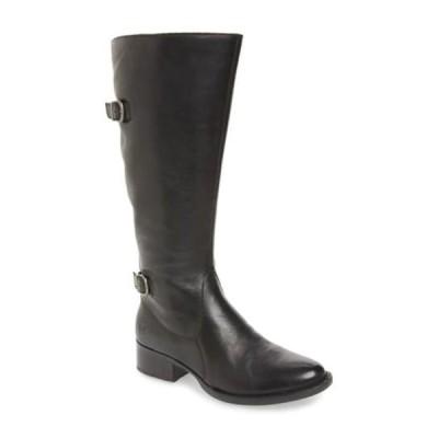 ボーン レディース ブーツ&レインブーツ シューズ Gibb Knee High Riding Boot - Wide Calf BLACK