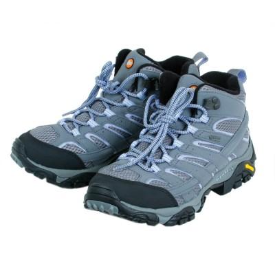 メレルトレッキングシューズ 登山靴 MOAB2 MID GTX モアブ 2 ミッド ゴアテックス グレー 灰色 登山 山登りグレー22.5