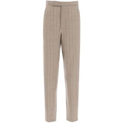 WANDERING/ワンダリング Mixed colours Wandering pinstripe trousers レディース 秋冬2020 WGW20311 ik