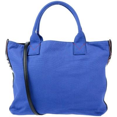 ピンコ PINKO ハンドバッグ ブルー コットン 100% ハンドバッグ