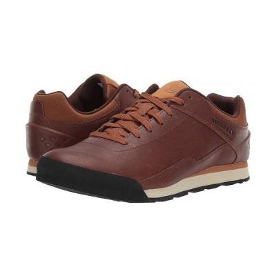 Merrell メレル メンズ 男性用 シューズ 靴 スニーカー 運動靴 Burnt Rocked Leather - Monks Robe