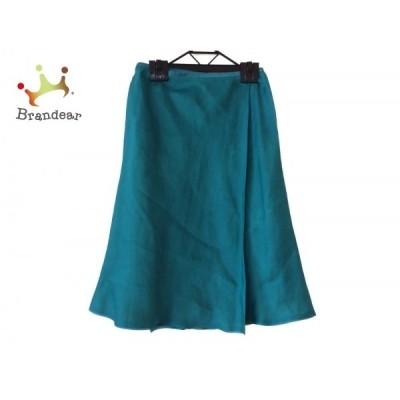 シビラ Sybilla 巻きスカート サイズSS XS レディース 美品 ライトグリーン   スペシャル特価 20200726