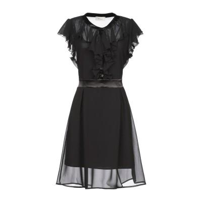 VICOLO ミニワンピース&ドレス ブラック M ポリエステル 97% / ポリウレタン 3% ミニワンピース&ドレス