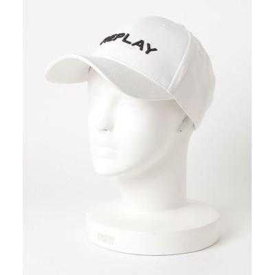 REPLAY / コットンツイル CAP MEN 帽子 > キャップ