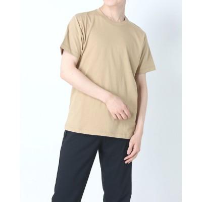 ティゴラ TIGORA メンズ 半袖Tシャツ TR-9C1231TS (ベージュ)