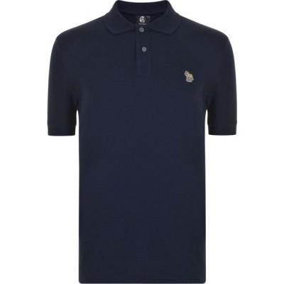 ポールスミス PS Paul Smith メンズ ポロシャツ トップス Zebra Reg Polo Navy