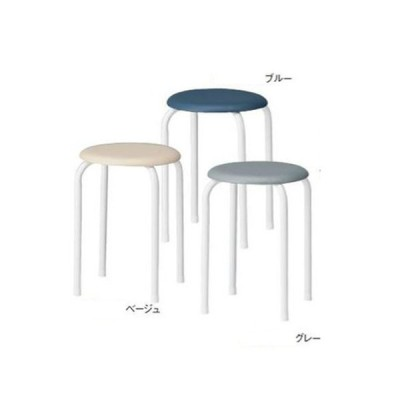 法人限定 スツール スチール脚 背なしチェア 肘なしチェア シンプル 丸椅子 抗菌仕様 病院 待合室 ロビー 教育施設 医療施設 オフィス 店舗 AMM-20