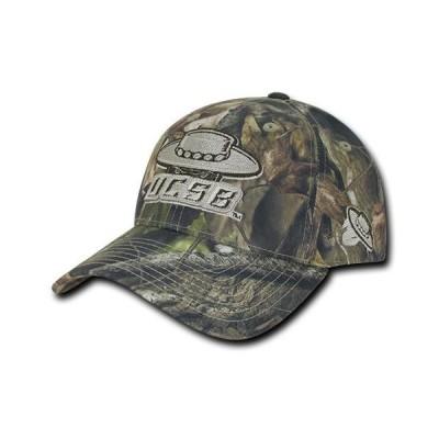 ユニセックス スポーツリーグ アメリカ大学スポーツ NCAA UCSB UC Santa Barbara Gruchos Structured Hybricam Camouflage Caps Hats G