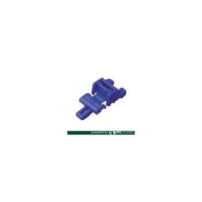 折りたたみコンテナ用フタ TRUSCO トラスコ中山 2枚フタ用ジョイント CR-S502F ダークブルー用 ダークブルー [CR-J  DB] CRJ 販売単位:1