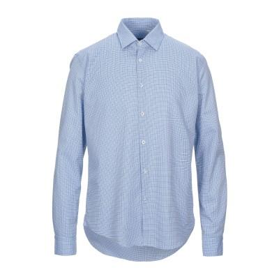 BARBATI シャツ スカイブルー 45 コットン 100% シャツ
