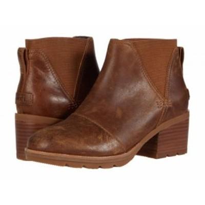SOREL ソレル レディース 女性用 シューズ 靴 ブーツ チェルシーブーツ アンクル Cate(TM) Chelsea Velvet Tan【送料無料】