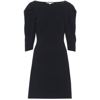 ステラ マッカートニー Stella McCartney レディース ワンピース ワンピース・ドレス Compact knit minidress Ink