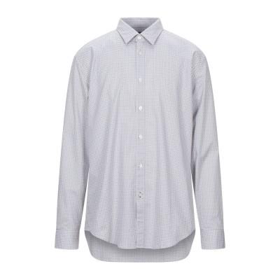 BOSS HUGO BOSS シャツ ホワイト XXL コットン 96% / ポリウレタン 4% シャツ