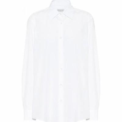 ドリス ヴァン ノッテン Dries Van Noten レディース ブラウス・シャツ トップス Cotton-poplin shirt White