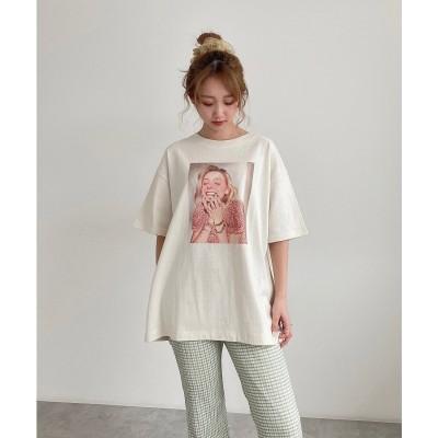 デコレーションモデルTシャツ ホワイト1