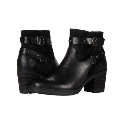 Born ボーン レディース 女性用 シューズ 靴 ブーツ アンクル ショートブーツ Derica - Black Full Grain
