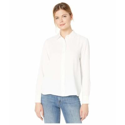 ラコステ シャツ トップス レディース Long Sleeve Basic Tunic Shirt Flour
